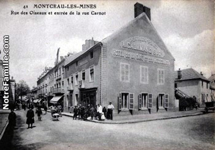 Cartes postales anciennes Montceau collection privee Montceau-news.com 2402195