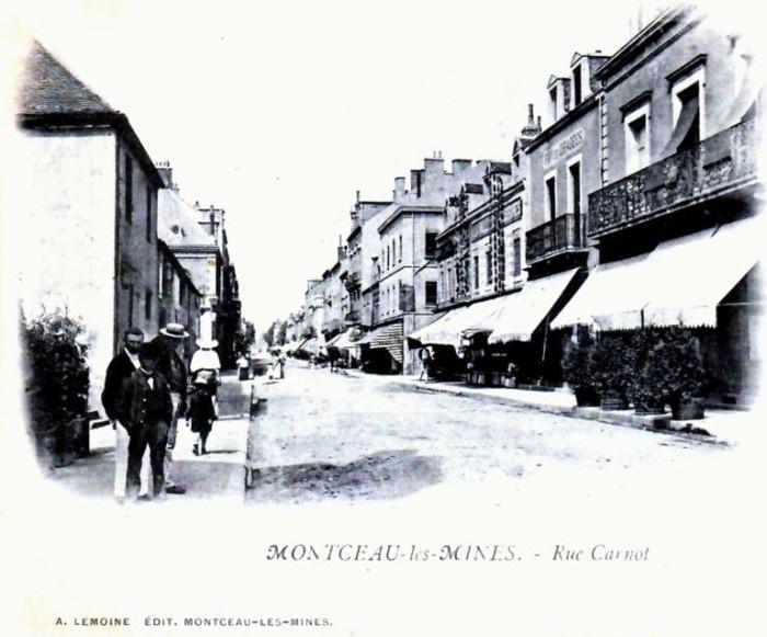 Cartes postales anciennes Montceau collection privee Montceau-news.com 2402197