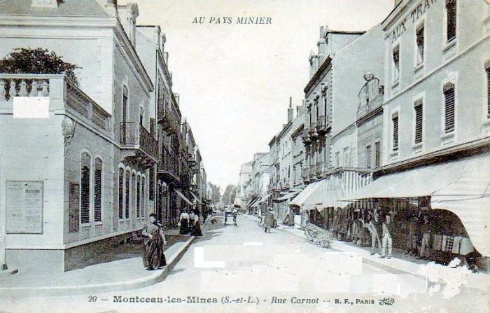 Cartes postales anciennes Montceau collection privee Montceau-news.com 2402198