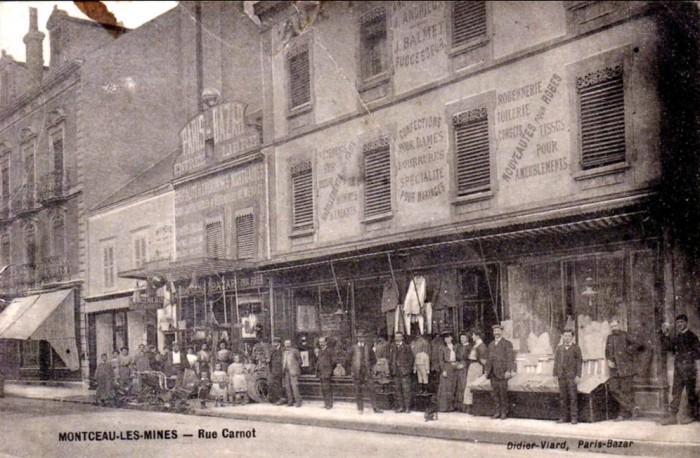Cartes postales anciennes Montceau collection privee Montceau-news.com 2402199