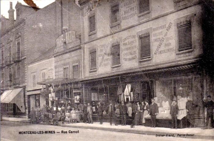 Cartes postales anciennes Montceau patrimoine Montceau-news;com 2502191