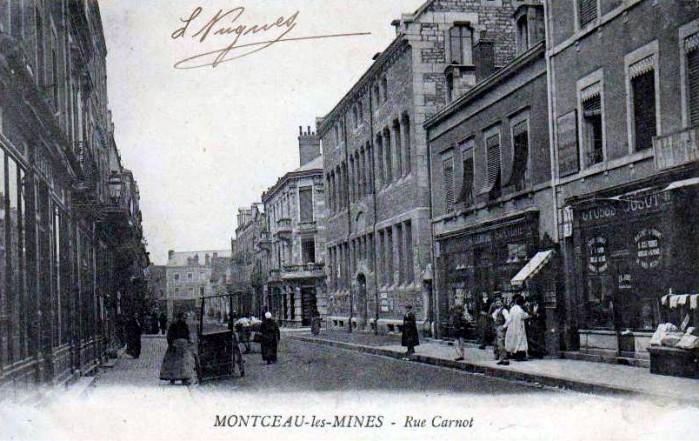Cartes postales anciennes Montceau patrimoine Montceau-news;com 2502195