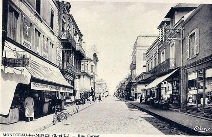 Cartes postales anciennes Montceau patrimoine Montceau-news;com 2502196
