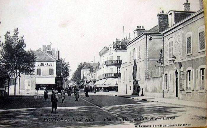 Cartes postales anciennes Montceau patrimoine Montceau-news;com 2502198
