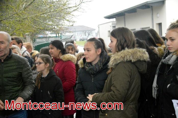 College Saint Gilbert Montceau, amis Olivier autisme cheque 0602193
