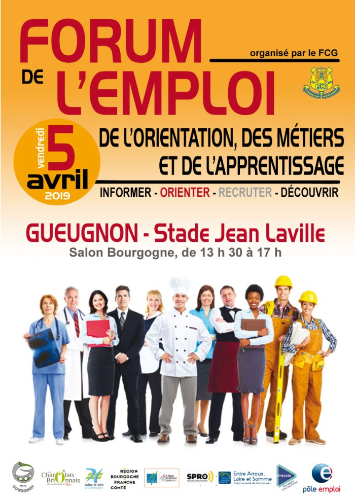 Forum emploi FCG foot Gueugnon Montceau-news.com 230219
