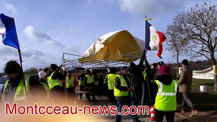 Gilets jaunes Magny acte 13 Montceau 09021917