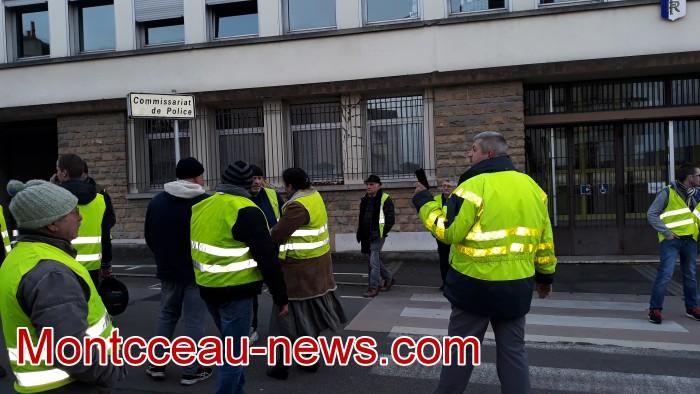 Gilets jaunes Magny acte 13 Montceau 09021982