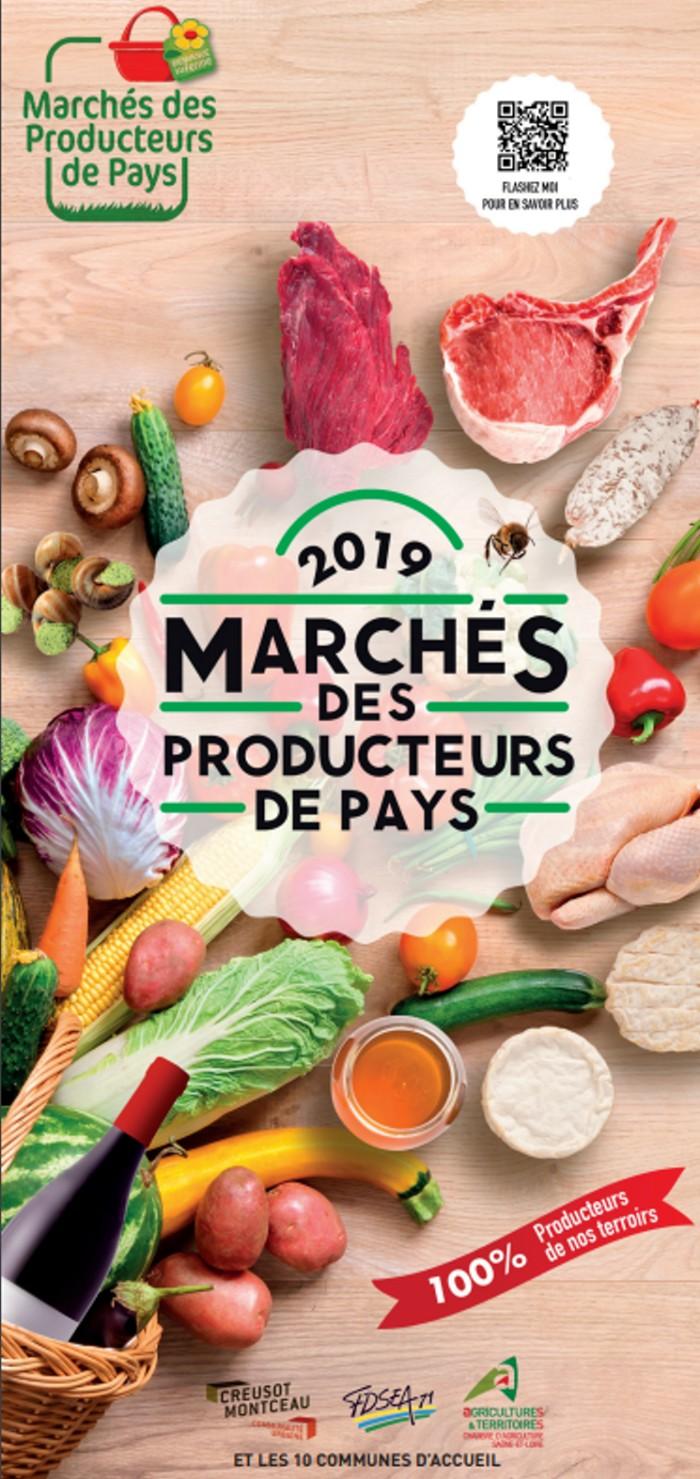 Marches producters de pays agriculture FDSEA Montceau-news.com 2702191