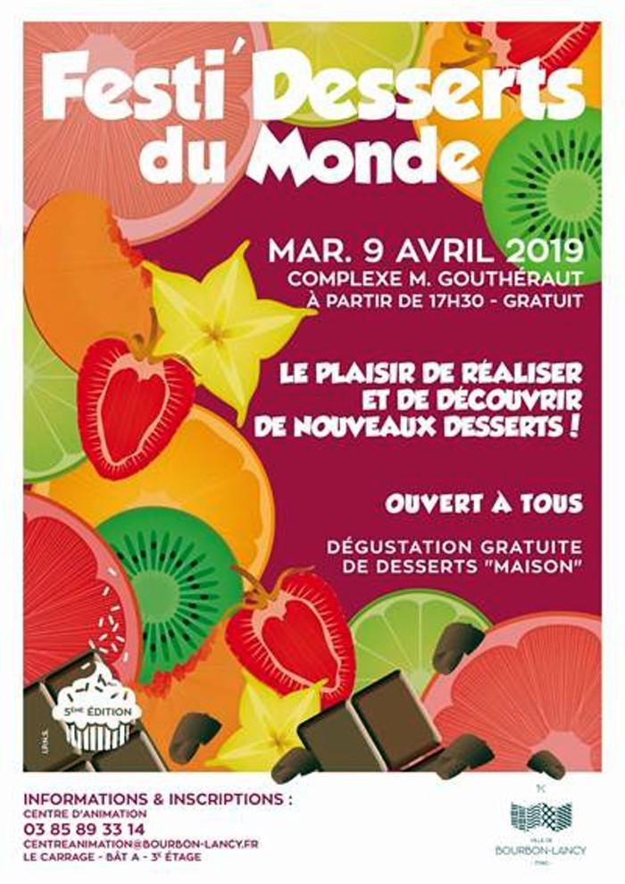 Festi desserts monde Bourbon-Lancy Charolais MONTCEAU-NEWS.COM 260319