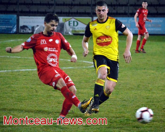 Foot football soccers FCMB Louhans Gueugnon Dijon FCO Montceau-news.com 130319