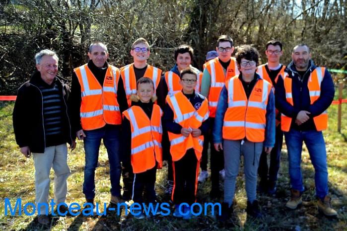 IME papillons blancs handicap jeunes young slalom Saint Vallier sport auto Montceau-news.com 280319