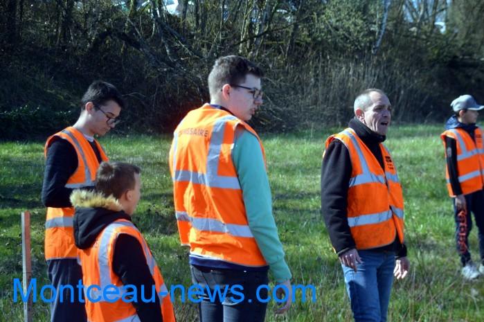IME papillons blancs handicap jeunes young slalom Saint Vallier sport auto Montceau-news.com 2803191