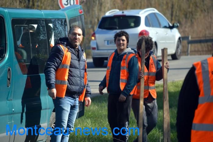 IME papillons blancs handicap jeunes young slalom Saint Vallier sport auto Montceau-news.com 28031910