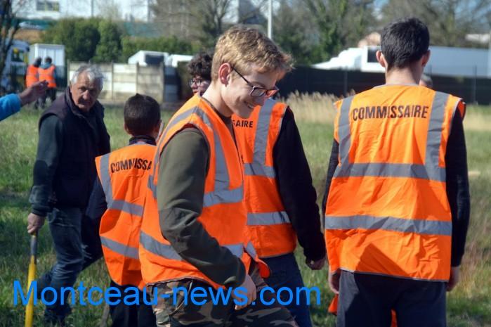 IME papillons blancs handicap jeunes young slalom Saint Vallier sport auto Montceau-news.com 2803192