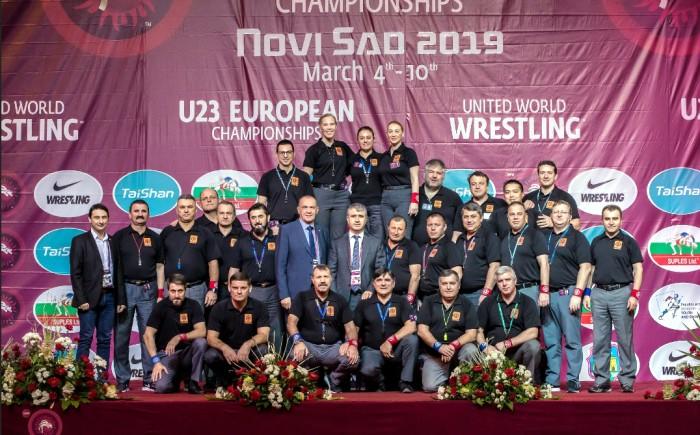 Joel COFFARD lutte arbitre championnats Europe Novi Sad Serbie Montceau-news.com 1303192