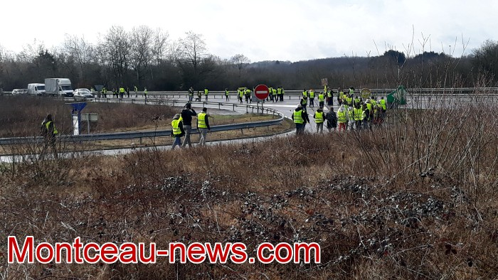 Journee action gilets jaunes Magny 02031914