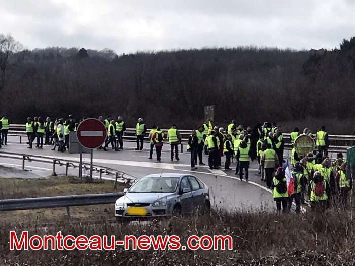 Journee action gilets jaunes Magny 02031916