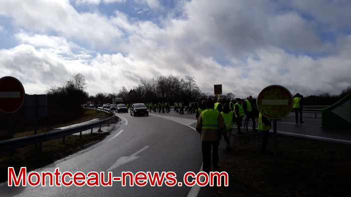 Journee action gilets jaunes Magny 02031918