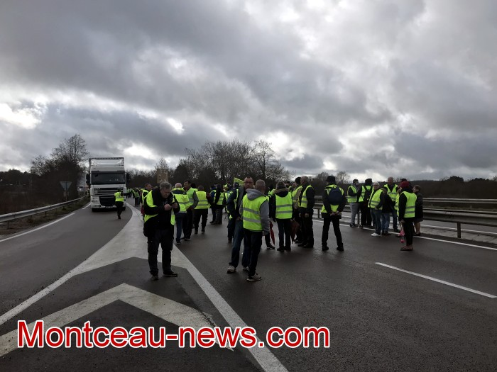 Journee action gilets jaunes Magny 02031921