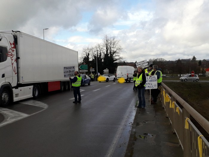 Journee action gilets jaunes Magny 02031923
