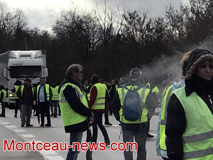 Journee action gilets jaunes Magny 02031927