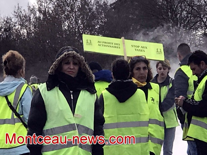 Journee action gilets jaunes Magny 02031928