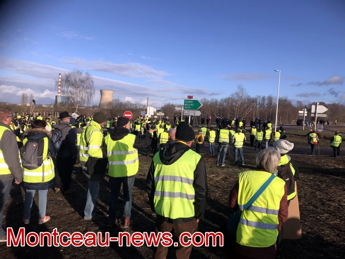 Journee action gilets jaunes Magny 02031958