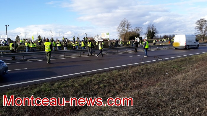 Journee action gilets jaunes Magny 02031985