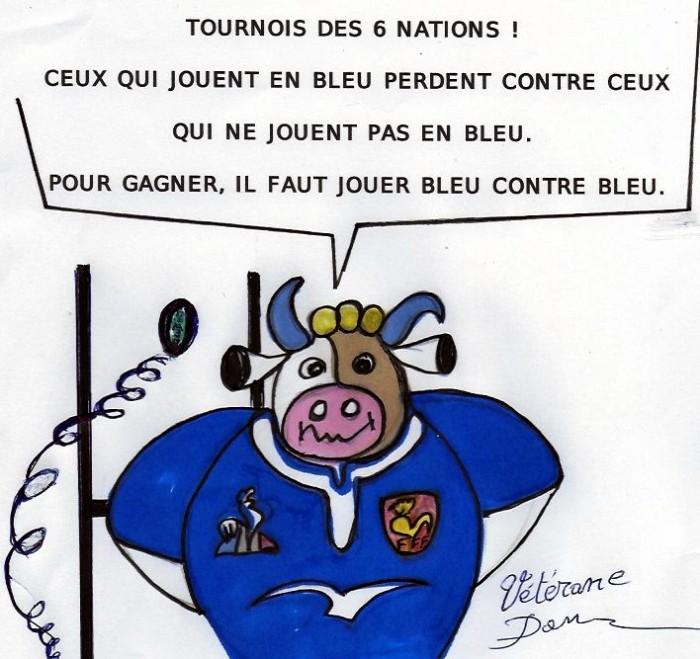 Joyeuse lundi vache cow Dan Debarnot dessin humour lundi pensee Montceau-news.com 100319