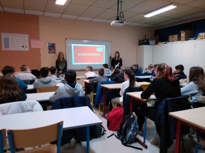 Ligue enseignement discrimination lutte Montceau-news.com 210319