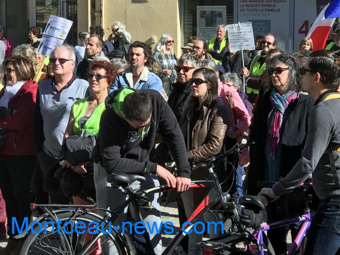 Manifestation climat Montceau samedi 116 mars Montceau-news.colm 1603195