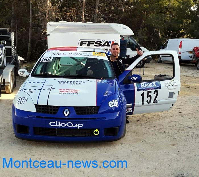 Martinet Stephane pilote auto race course rallye championnat France Montceau-news.com 310319