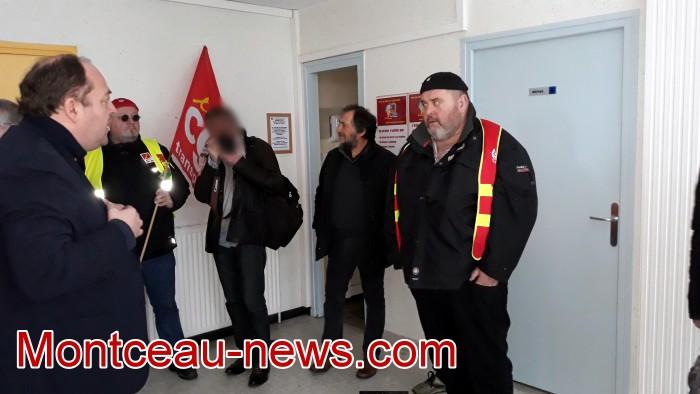 Mouvement gilets jaunes Magny Montceau social Montceau-news.com 0903191