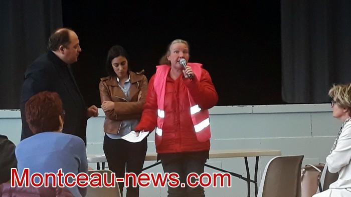 Mouvement gilets jaunes Magny Montceau social Montceau-news.com 09031910