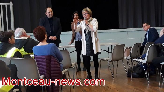 Mouvement gilets jaunes Magny Montceau social Montceau-news.com 09031913