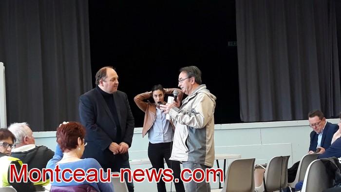 Mouvement gilets jaunes Magny Montceau social Montceau-news.com 09031914