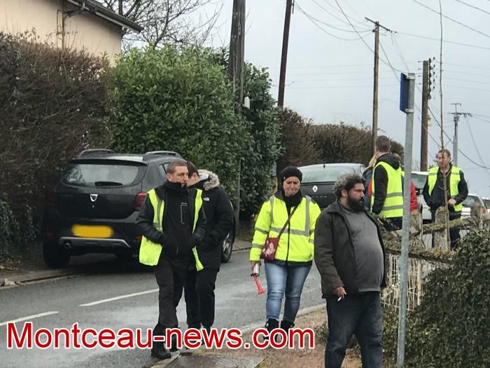 Mouvement gilets jaunes Magny Montceau social Montceau-news.com 09031916