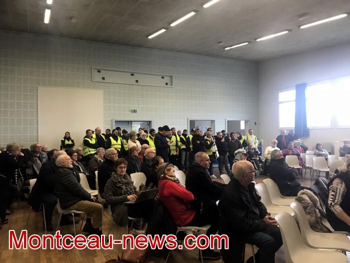 Mouvement gilets jaunes Magny Montceau social Montceau-news.com 09031917