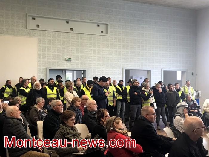 Mouvement gilets jaunes Magny Montceau social Montceau-news.com 09031918