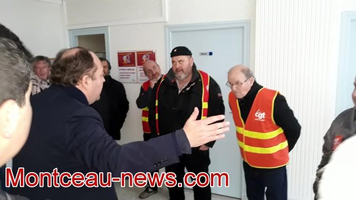 Mouvement gilets jaunes Magny Montceau social Montceau-news.com 0903192