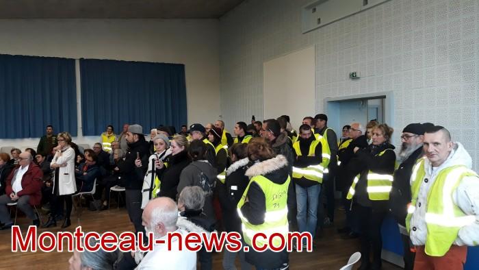 Mouvement gilets jaunes Magny Montceau social Montceau-news.com 09031920