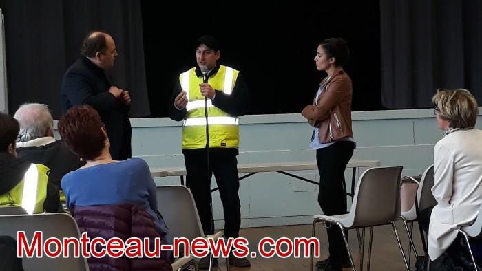 Mouvement gilets jaunes Magny Montceau social Montceau-news.com 09031921