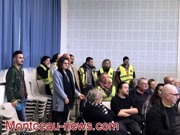 Mouvement gilets jaunes Magny Montceau social Montceau-news.com 09031922