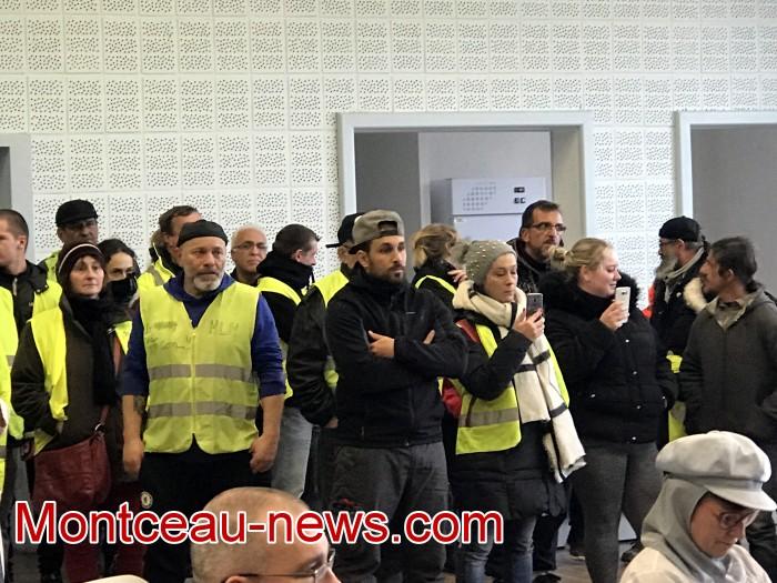 Mouvement gilets jaunes Magny Montceau social Montceau-news.com 09031924