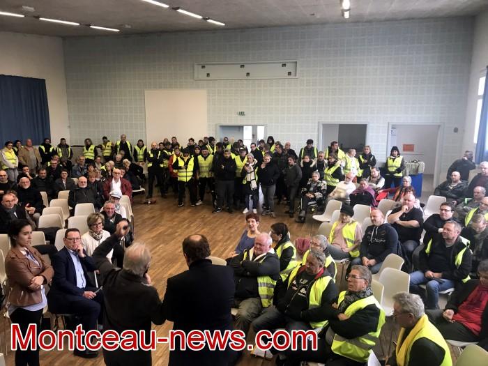 Mouvement gilets jaunes Magny Montceau social Montceau-news.com 09031925