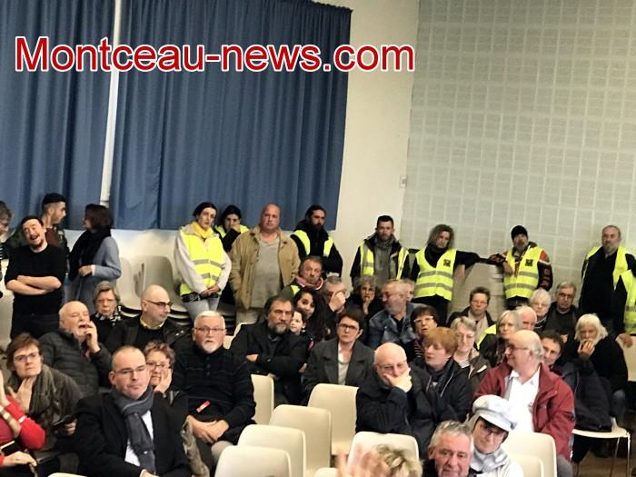 Mouvement gilets jaunes Magny Montceau social Montceau-news.com 09031927