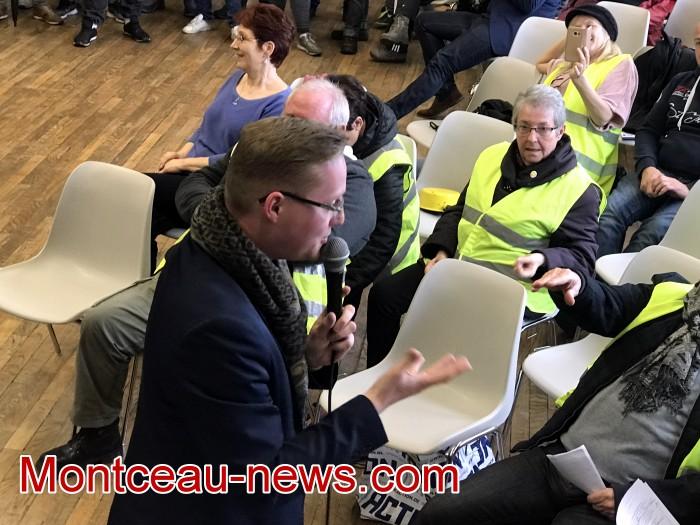 Mouvement gilets jaunes Magny Montceau social Montceau-news.com 09031928