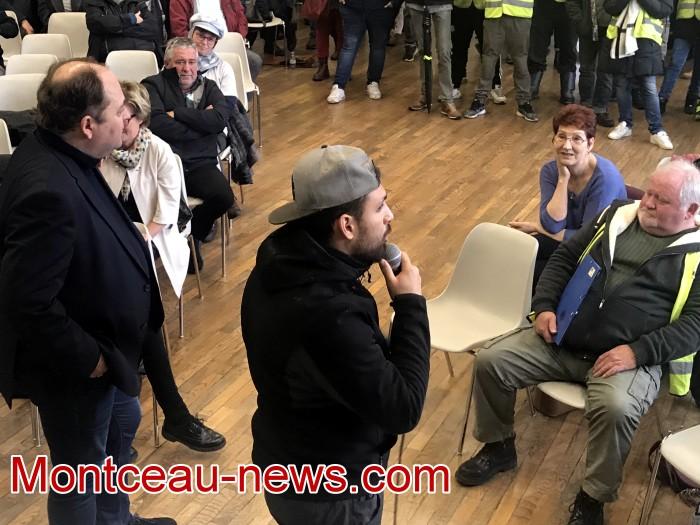 Mouvement gilets jaunes Magny Montceau social Montceau-news.com 09031929