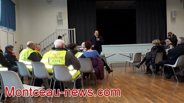 Mouvement gilets jaunes Magny Montceau social Montceau-news.com 0903193